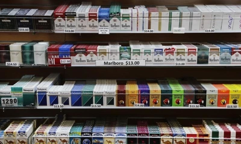 In 2019, the federal cabinet had approved the health levy of Rs10 on each packet of cigarette and Re1 on each bottle of 250ml sugary beverages. — AP/File