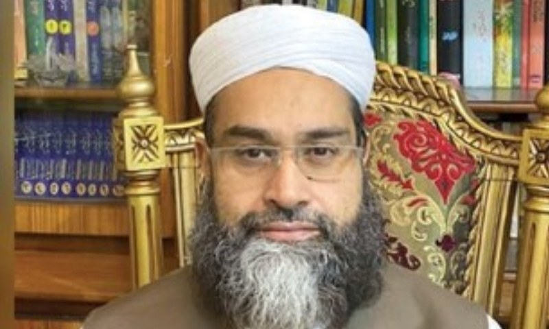 This file photo shows Hafiz Mohammad Tahir Ashrafi, special representative of the prime minister on religious harmony and Middle East. — File