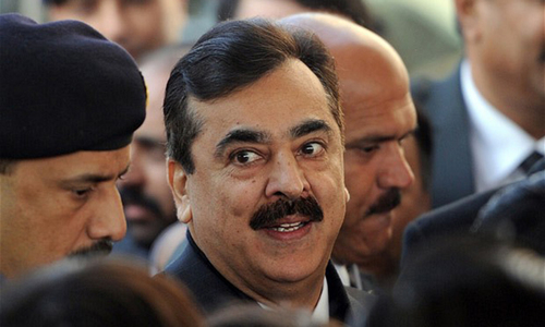 Syed Yousuf Raza Gilani challenged the dismissal of his petition against rejection of seven votes cast in his favour in the election of Senate chairman.  — AFP/File