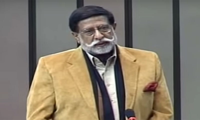 Minister for Privatisation Muhammadmian Soomro on Wednesday said the government was moving towards revival of Pakistan Steel Mills (PSM) in a transparent manner. — Photo courtesy 24 News YouTube video screengrab/File