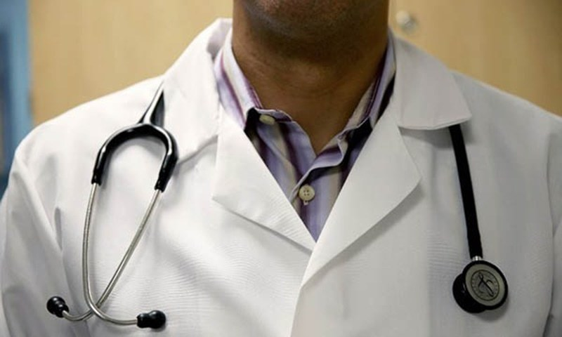 Doctors working in coronavirus rapid response teams threatened to go on strike for regularisation of service. — AFP/File