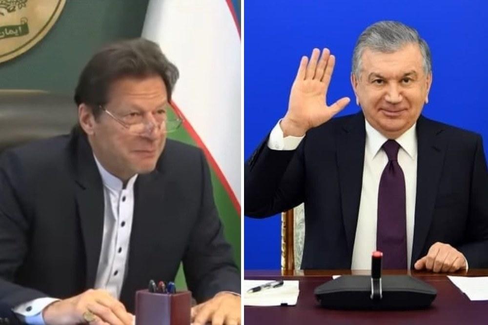 وزیر اعظم عمران خان اور ازبکستان کے صدر شوکت میرزیوئیف کے درمیان پہلا ورچوئل سر براہی اجلاس منعقد ہوا۔ - فائل فوٹو:ریڈیو پاکستان/ٹوئٹر