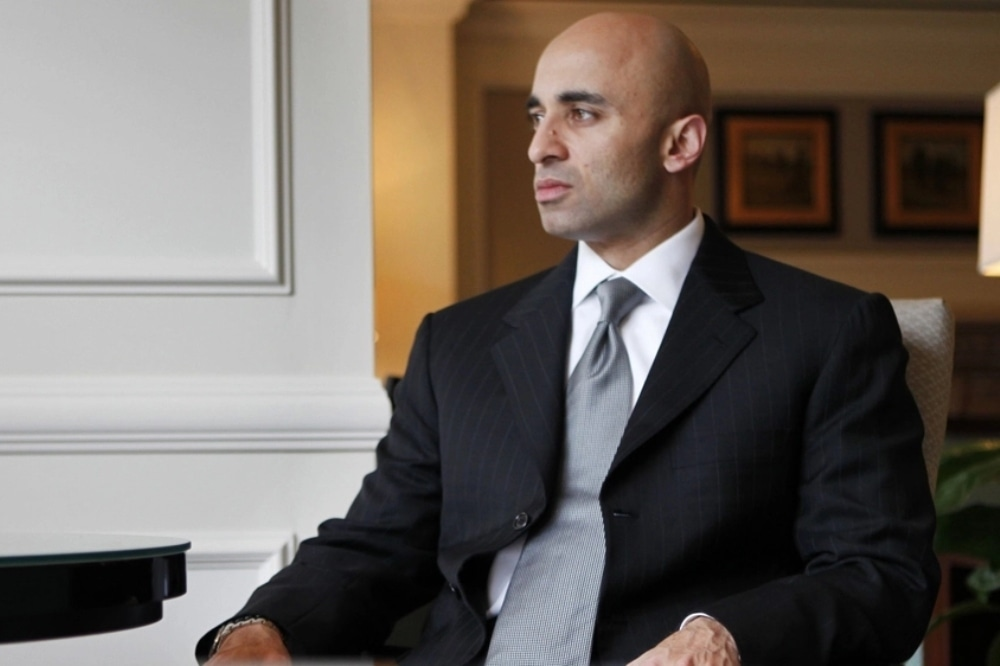This photo shows UAE's envoy to Washington Ambassador Yousef Al Otaiba. — AP