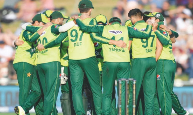 BUOYANT Pakistan cricketers gear up to win the Twenty20 series today.