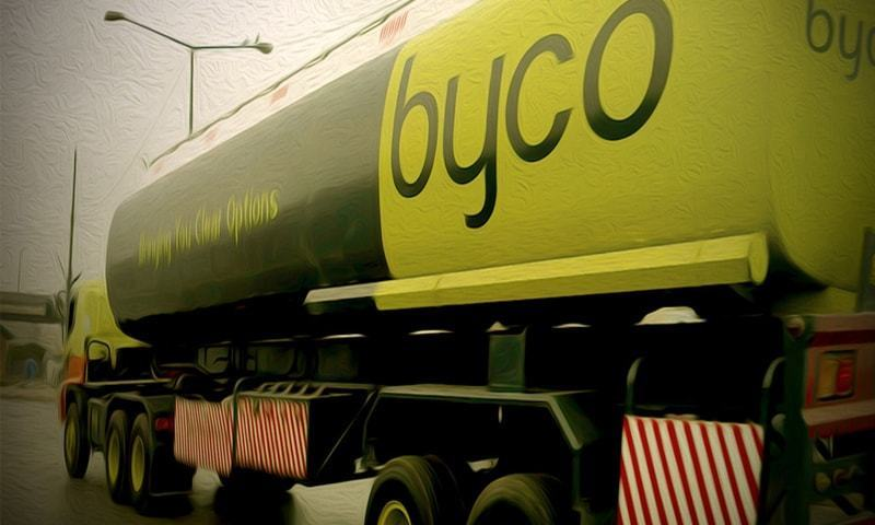 A Byco container is seen in this file photo. — Facebook