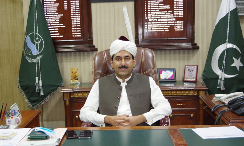 The government transferred Bahawalpur Deputy Commissioner (DC) Muzaffar Khan and posted him as the communication and works special secretary in his own pay and scale against a vacant post. — DC Bahawalpur Facebook