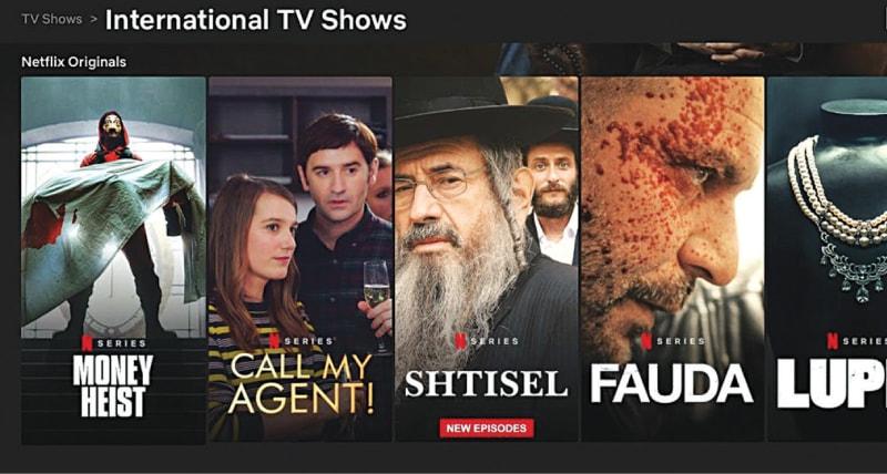 Netflix's international line-up