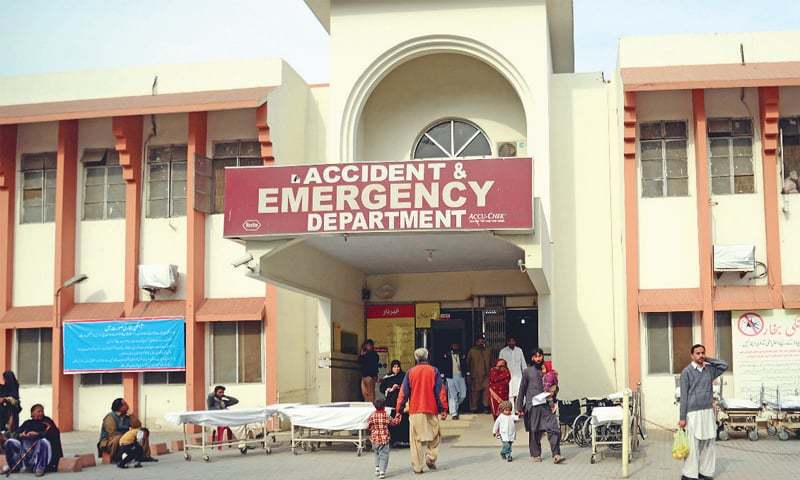 A view of the Benazir Bhutto Hospital (BBH) in Rawalpindi. — Dawn/File