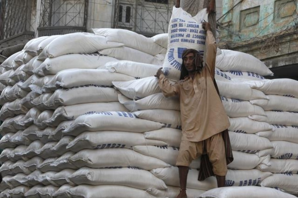 At least 660 sugar bags of 50 kilograms each were seized in Multan, while 590 bags were seized in two separate raids in Begum Kot and Garhi Shahu areas of Lahore. — Reuters