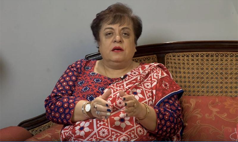 Human Rights Minister Shireen Mazari speaks during an interview. — Screengrab courtesy SSII YouTube video/File