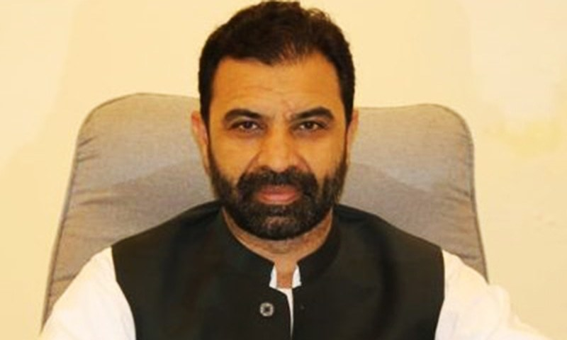 Former adviser to chief minister, MPA Ziaullah Bangash has denied reports that he resigned from the post under pressure. — Photo courtesy of Twitter