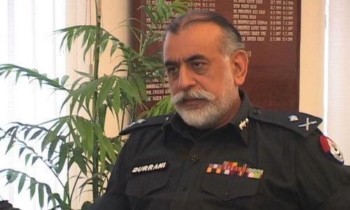 Nasir Khan Durrani. — Dawn/File