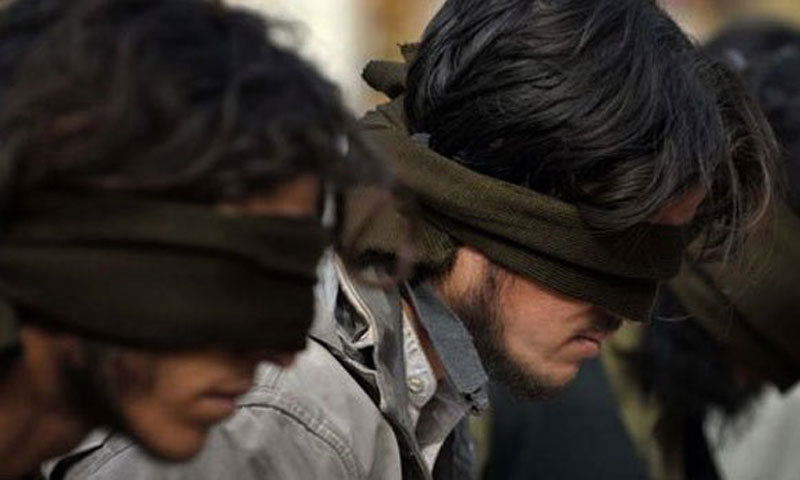The suspects were identified as Sheeraz Akbar, Liaquat Ali, Meer Wais, Mohammed Aamir and Nigar Ali. — AFP/File