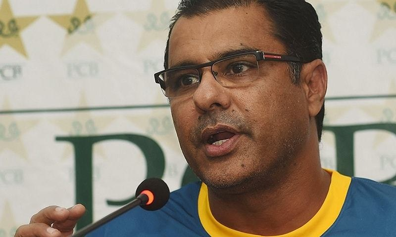 Pakistan's bowling coach Waqar Younis will not be available for Pakistan's upcoming T20 and Test series in Zimbabwe. — AFP/File