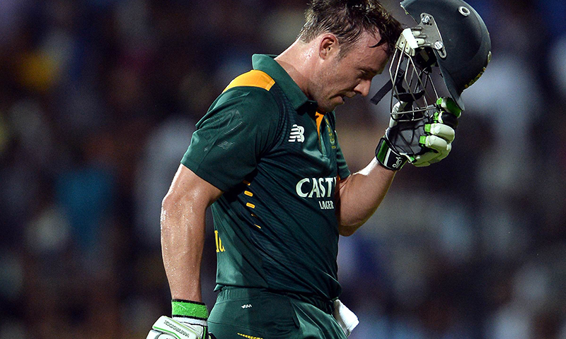 South African batsman A.B. de Villiers said he is open to a return to international cricket at this year's Twenty20 World Cup in India. — AFP/File