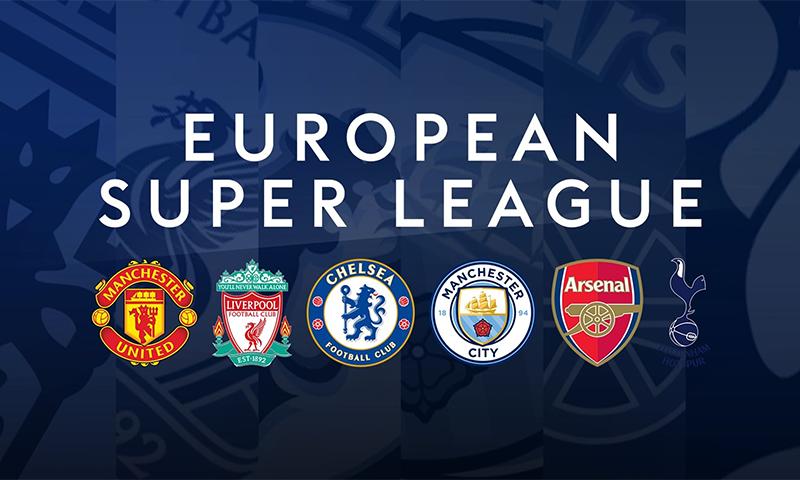 یہ لیگ یورپیئن چیمپیئنز لیگ کی ٹکر پر متعارف کرائی گئی ہے جس سے عالمی فٹبال میں بڑا بحران پیدا ہو گیا ہے— فوٹو بشکریہ ٹوئٹر