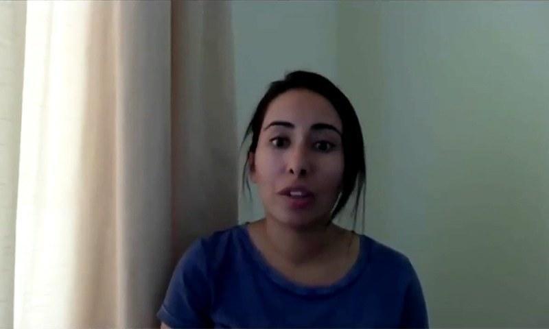 Daughter of Dubai's ruler, Princess Latifa. — Screengrab from Reuters video/File