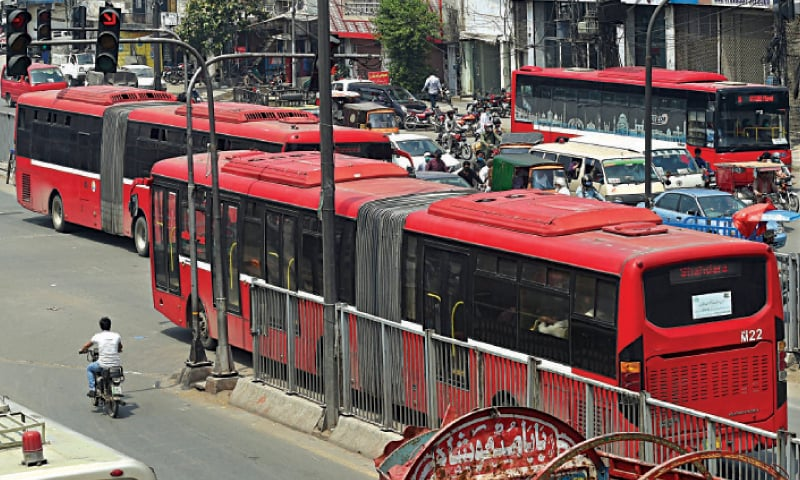 Metro bus operation resumes after over 20 days. — White Star