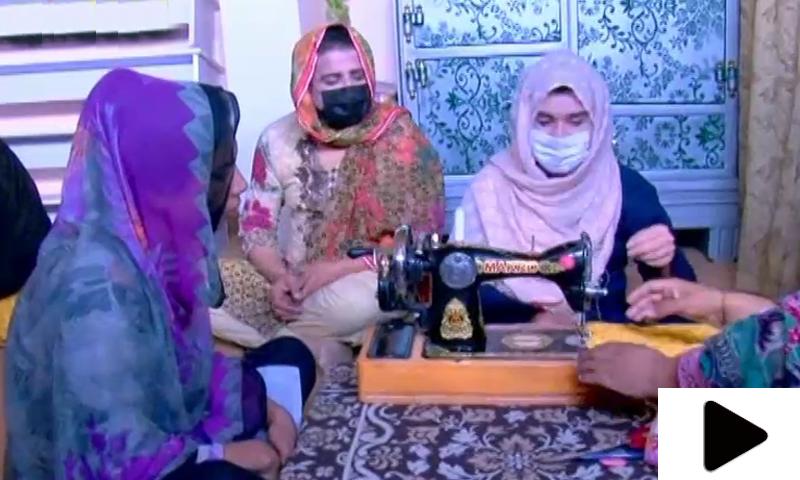 اسلام آباد میں بھی خواجہ سراؤں نے درزی کی دکان کھول لی