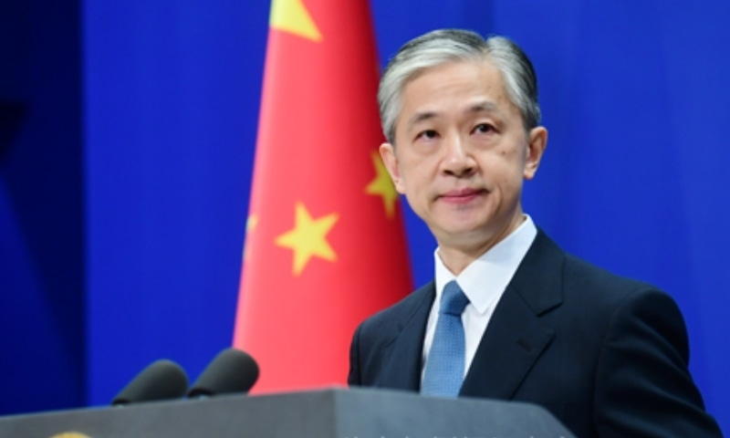"""The move """"has poisoned mutual trust... and seriously harms China-Australia relations"""", said foreign ministry spokesman Wang Wenbin at a briefing in Beijing. — Photo courtesy Chinese foreign ministry website"""