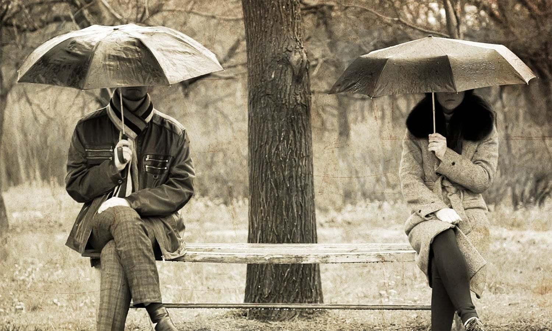 دو عاشقوں کے درمیان خط و کتابت کی دلچسپ کہانی