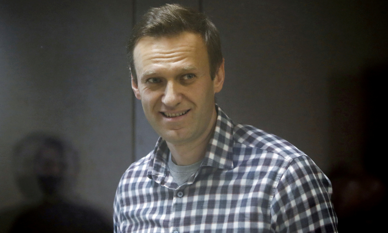 Russian opposition politician Alexei Navalny attends a court hearing in Moscow, Russia in this February file photo. — Reuters