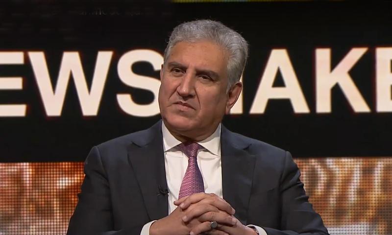 شاہ محمود قریشی نے انٹرویو میں کہا کہ ہم اس وقت کوئی امن مذاکرات نہیں کر رہے ہیں—