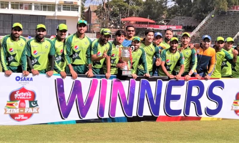 پاکستان نے سیریز بھی جیت لی3فوٹو: پی سی بی ٹوئٹر