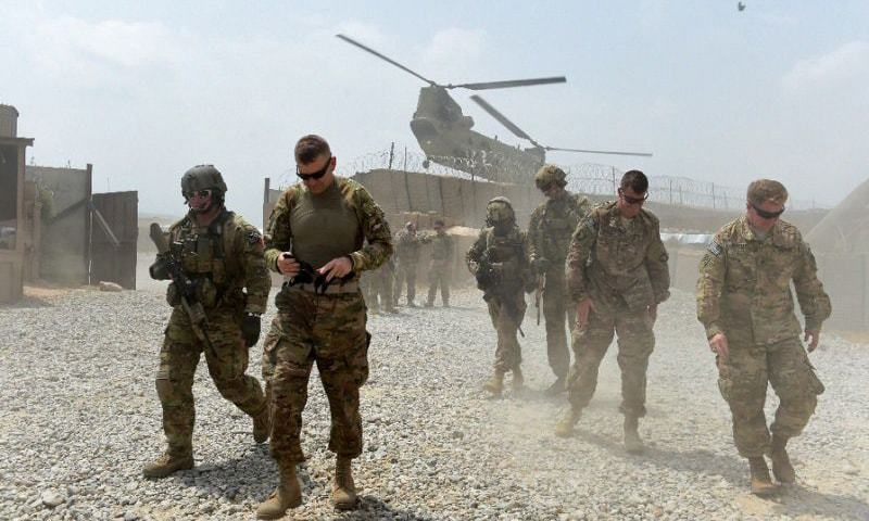Foreign force withdrawal is slated to begin on May 1, in line with an agreement with the Taliban in 2020. — AFP/File