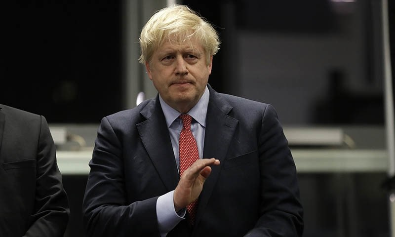 United Kingdom  defense secretary denies 'deeply unfair' claims on Boris Johnson