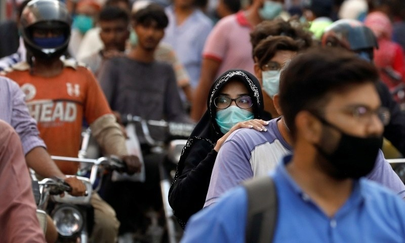 پاکستان میں کورونا وائرس کے مجموعی کیسز 8 لاکھ سے متجاوز