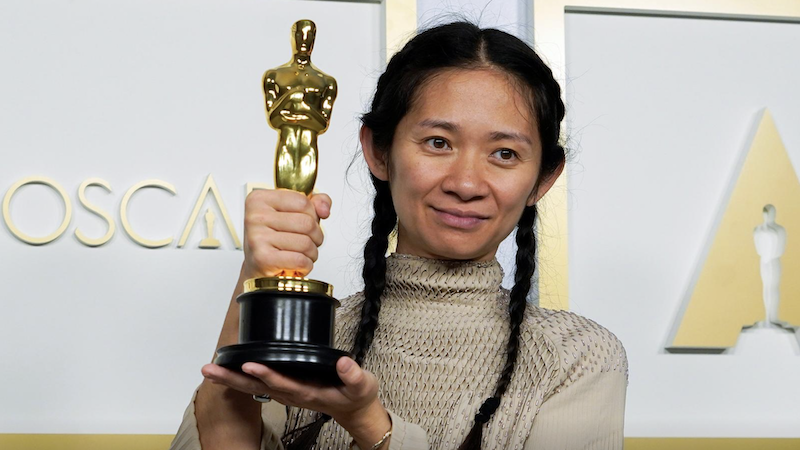 93ویں آسکر ایوارڈز: نومیڈ لینڈ بہترین فلم، کلوئی زاؤ بہترین ہدایت کار قرار