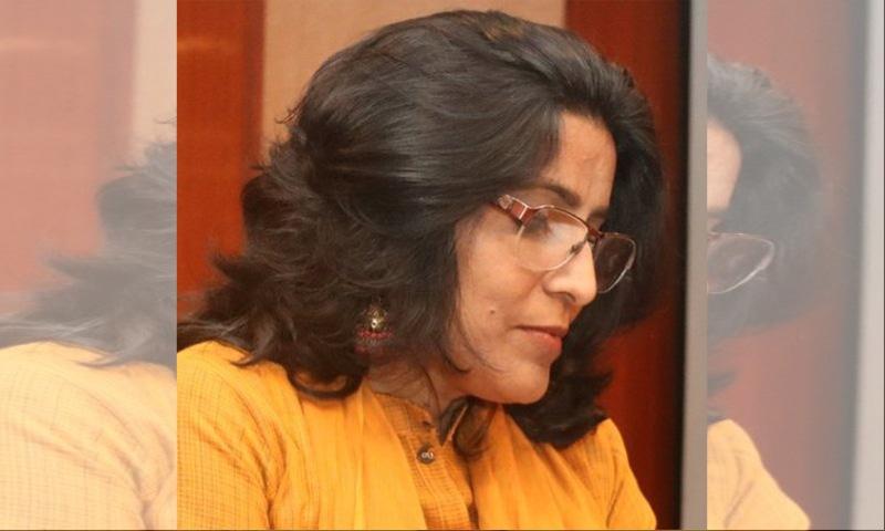 معروف شاعرہ اور قلم کار، تبسم فاطمہ—تصویر بشکریہ دیدبان میگزین