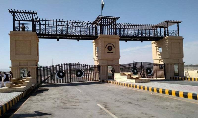 تفتان بارڈر پر امیگریشن گیٹ بدھ (آج) کو غیر معینہ مدت کے لیے بند ہوجائے گا — فائل فوٹو / آئی ایس پی آر