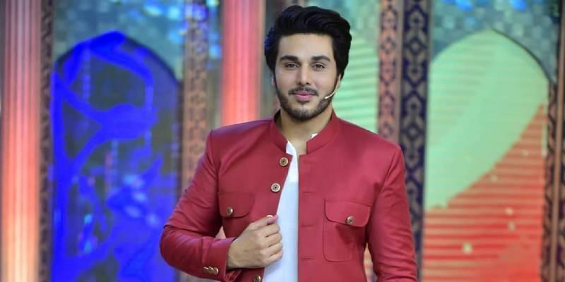 شوبز کے بعد احسن خان کی ملبوسات کے برانڈ میں انٹری