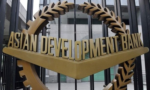 The Asian Development Bank (ADB) on Wednesday forecast Pakistan's GDP would grow by two per cent during the current year. — AFP/File