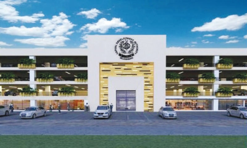 Consultants have prepared this initial design of multipurpose parking plazas to be built in various parts of the capital city.
