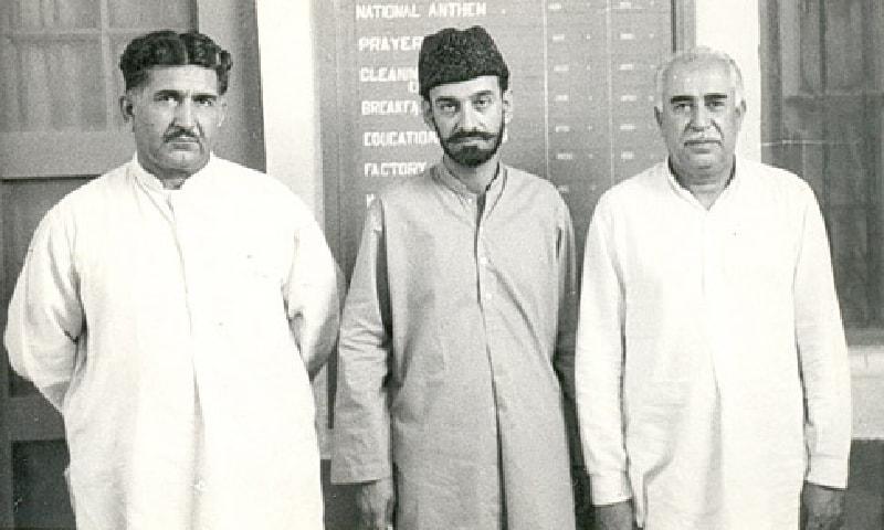 میر گل خان نصیر، سردار عطا اللہ مینگل اور میر غوث بخش بزنجو