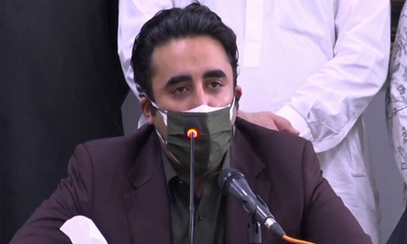 PPP Chairman Bilawal Bhutto-Zardari said on Friday that he had taken notice of purported reports of villagers being evicted by Bahria Town authorities in Karachi and demanded a report on the matter. — DawnNewsTV