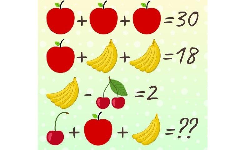 ریاضی کی اس دلچسپ پہیلی کا جواب دے سکتے ہیں؟