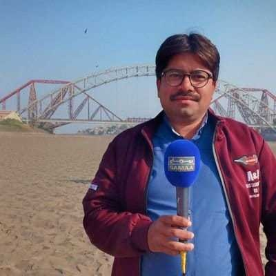 Sahil Jogi, Samaa bureau chief in Sukkur.