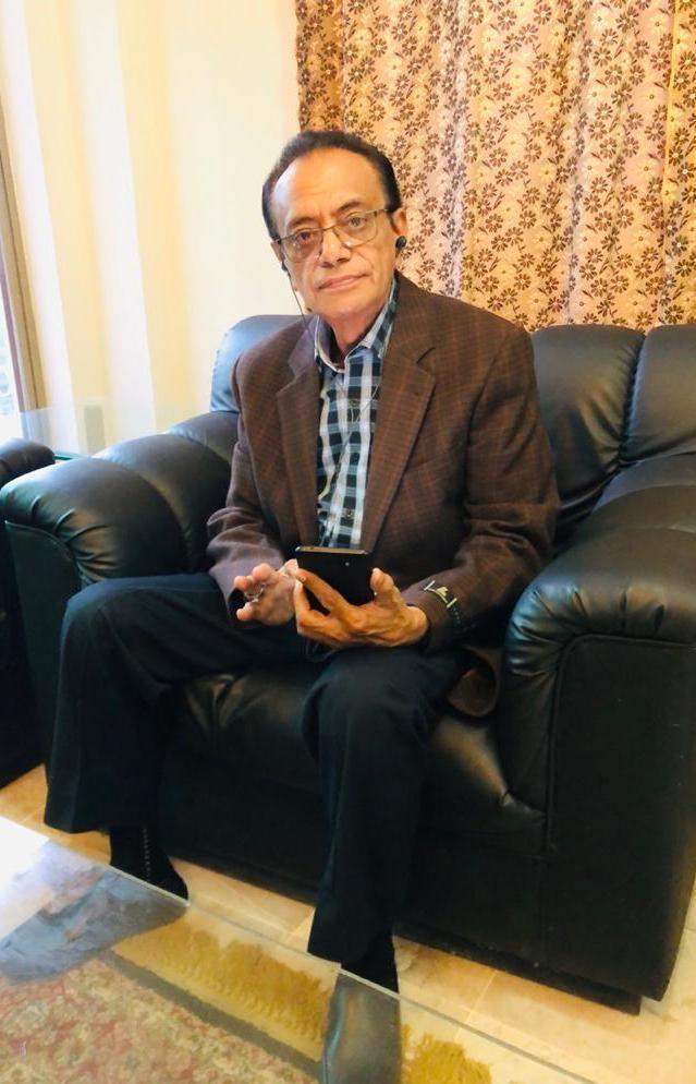 Mashooq Odhano, KTN bureau chief in Larkana.