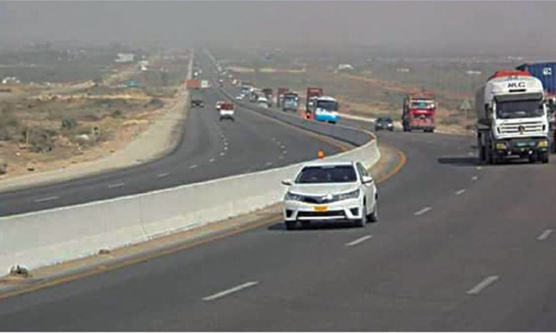 The 306-km-long motorway is part of PM's Rs446bn Sindh development package. — File