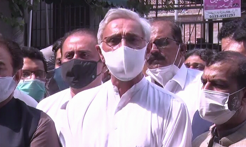 Estranged PTI leader Jahangir Tareen said on Monday that the group of PTI lawmakers backing him had had a good meeting with Prime Minister Imran Khan. — DawnNewsTV