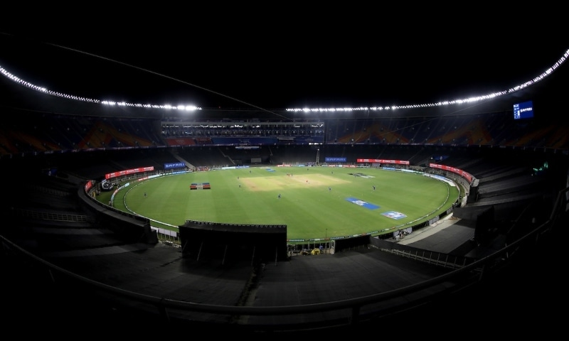 "The Indian Premier League (IPL) was forced into its first coronavirus postponement this season on Monday after two players tested positive despite the tournament's bio-secure ""bubble"". — Photo courtesy IPL Twitter"