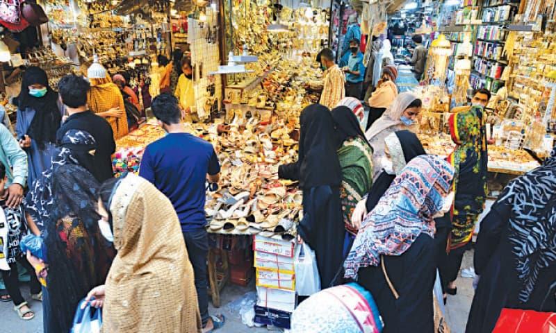 Eid shopping in Anarkali. — White Star