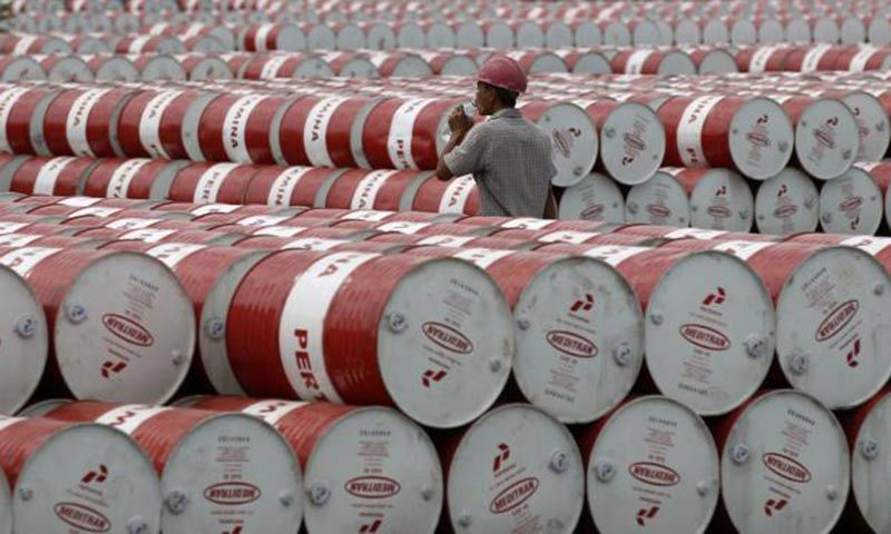 The country's oil sales swelled by 57 per cent to 1.67 million tonnes in April from 1.07m tonnes in April 2020. — Reuters/File