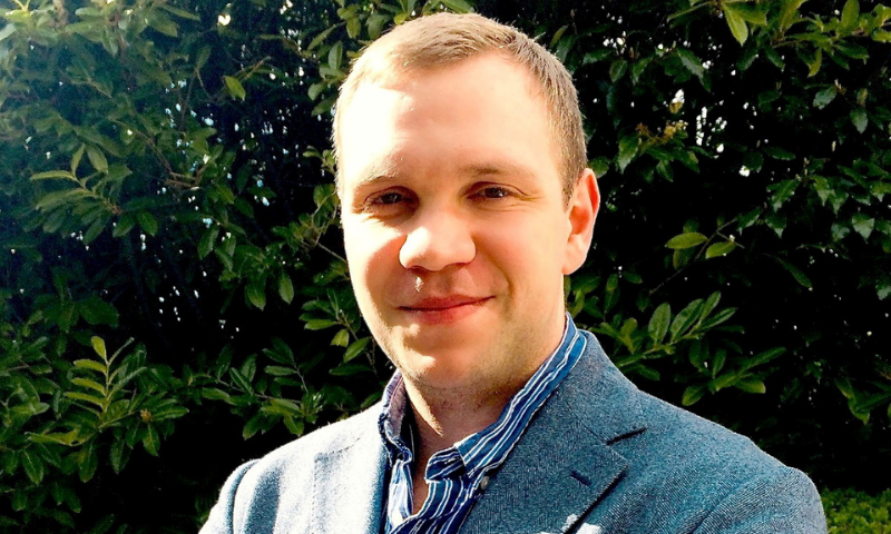 British academic Matthew Hedges, who was jailed for spying in the UAE, is seen in this file photo. — Reuters