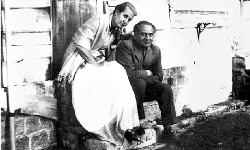 فیض احمد فیض اور ان کی زوجہ ایلس فیض