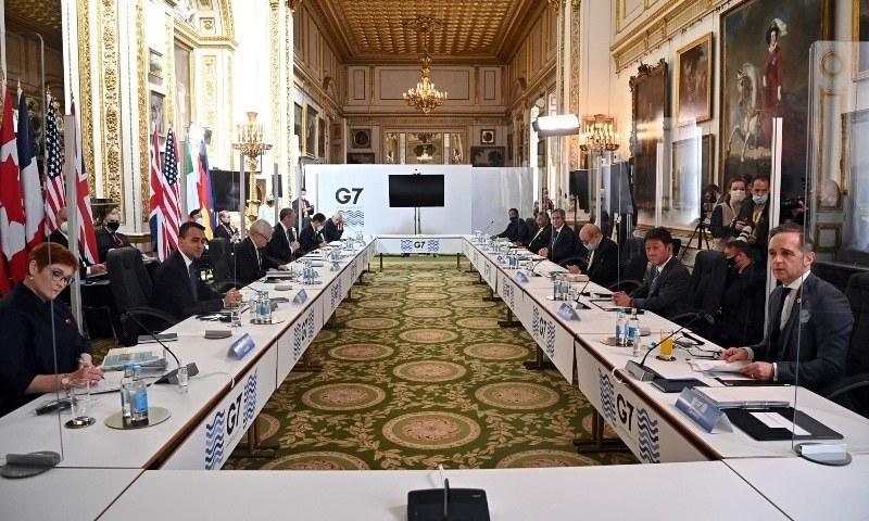 جی-7 اجلاس میں شرکت کیلئے جانے والے بھارتی وفد میں دو افراد کووڈ-19 کا شکار